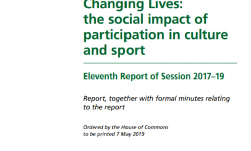 Pro Bono Economics call for more holistic evaluations of children's sport picked up in DCMS Select Committee report