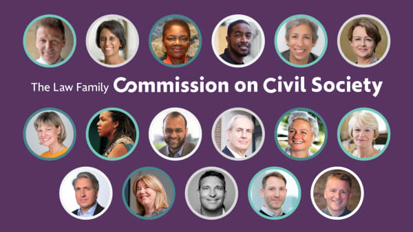 Read: Press release: 17 Commissioners assembled to lead new Commission on Civil Society